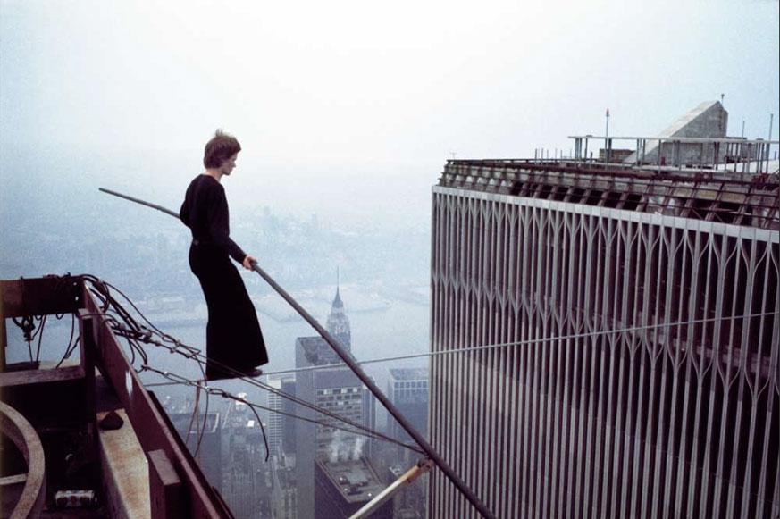 MY_WTC #186 | photo Jean-Louis Blondeau, 7. August 1974 | Philippe Petit on Wire