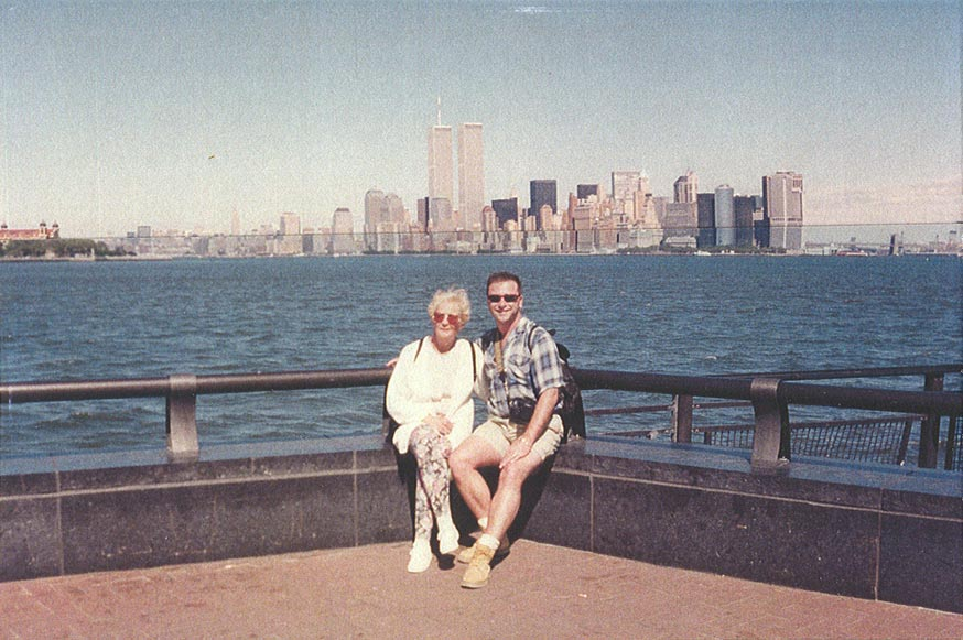 MY_WTC #242 | Geoff | On Liberty Island with my mom, 1997