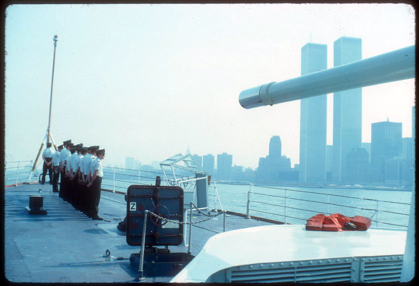MY_WTC #284 | Peter 1976 | HMCS Iroquois, July 3