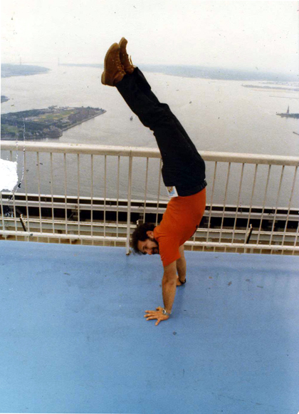 MY_WTC #531 | NASA Mike 1980 | Handstand On Top Of The World