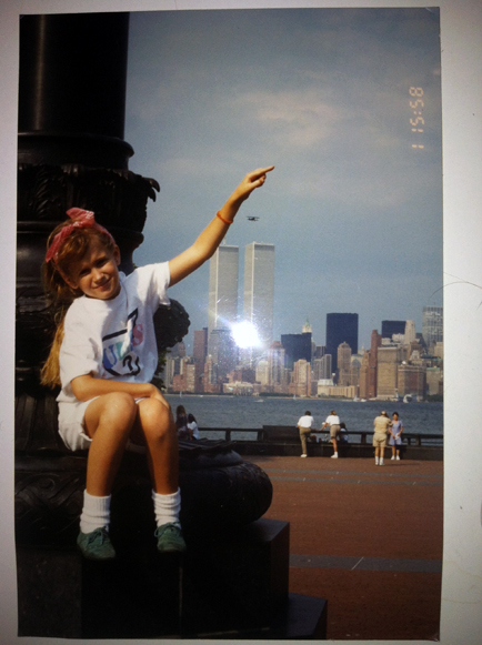 MY_WTC #572 | Fruzsina 1990s | Me at the Statue of Liberty...