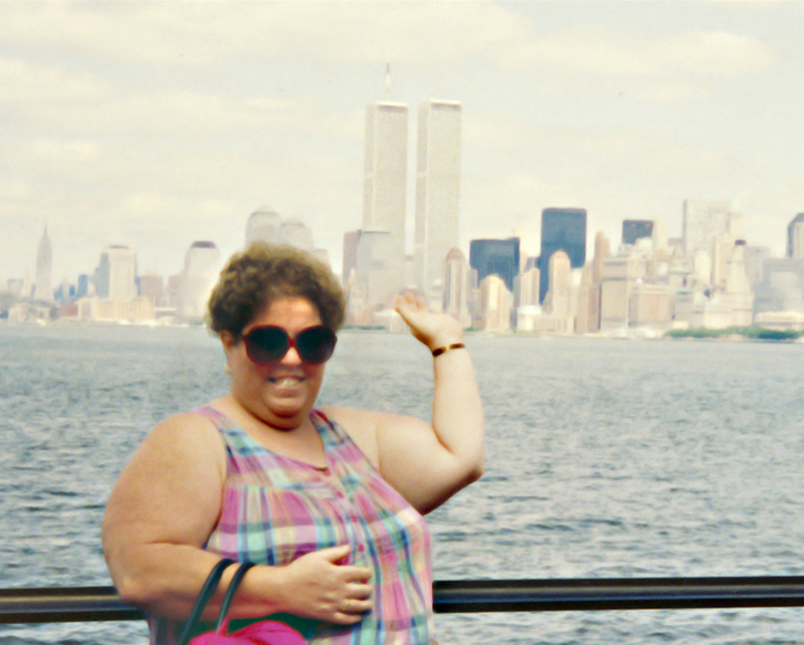 MY_WTC #600 | Bridgette late 1980s | Liberty Island
